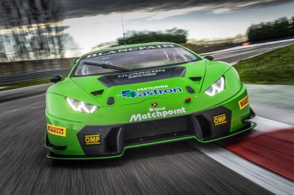 ANDREA AMICI PROMOTED IN THE LAMBORGHINI GT3 JUNIOR PROGRAM
